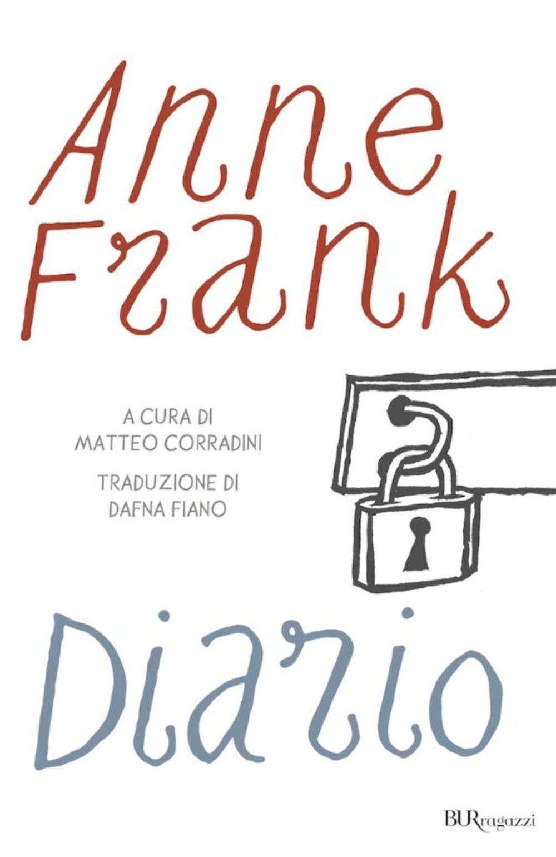 cop Anne Frank Diario BUR Ragazzi